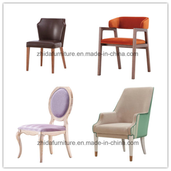 Classic Modern Solid Wood Dining Chair pictures & photos