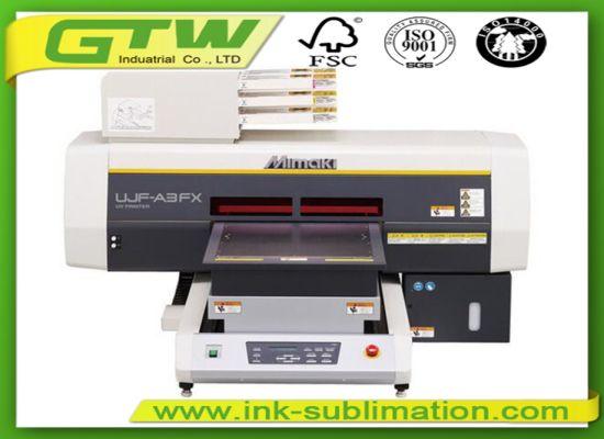 Mimaki Ujf-A3fx Small UV Flatbed Printer for Digital Printing