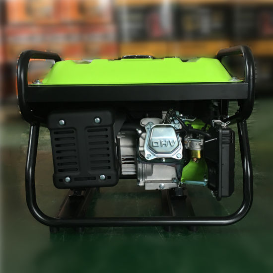Low Price Cooper Wire Rated Output 2kw Recoil Electric Start Gasoline Generator pictures & photos
