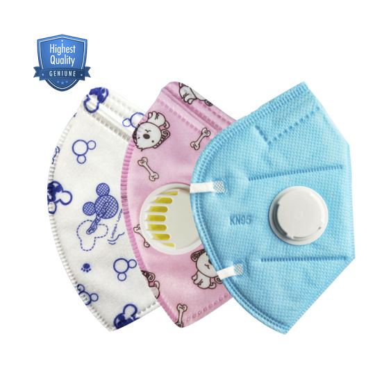 Quality Disposable 4-Ply PP Non Woven Kn95 N95 Kids Face Mask