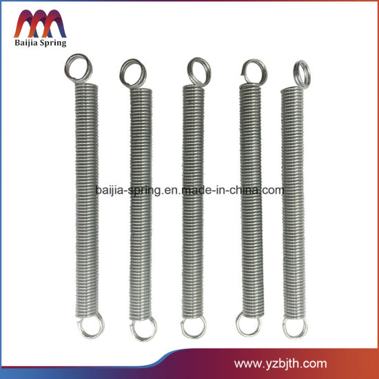 High Quality Carbon Stainless Steel Strong Black Oxide Extension Spring