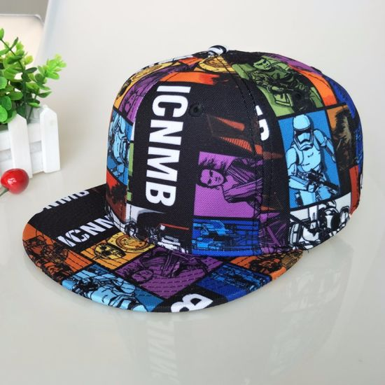 China Leisure Cap Black Polyester Snapback Custom Logo 3D Embroidery ... 741d55de3d7