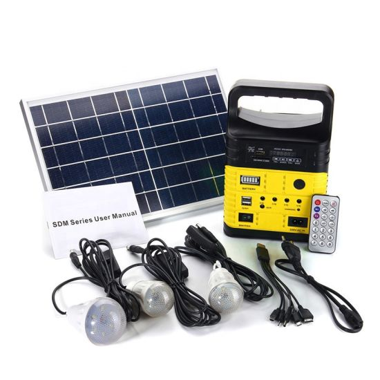 Solar Outdoor Work Emergency Light LED Work Light Rechargeable 10W Flood Light Waterproof Solar Powered Lights with Backup Power Bank Function for Emergency Use