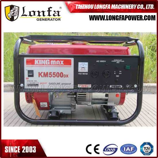 2.5kVA King Max Power Gasoline Generator pictures & photos