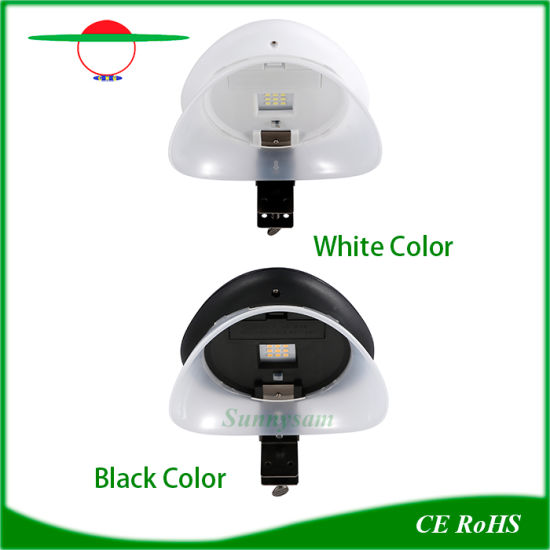 New LED Lamp Solar Cap Hat Shape Outdoor Fence Lighting pictures & photos