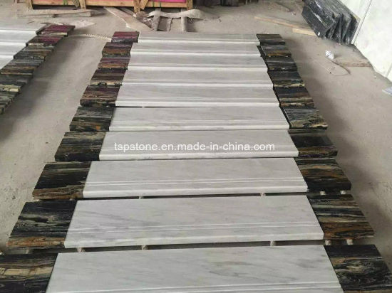 Natural Stone Marble Granite Staircase For Interior Outdoor Decoration