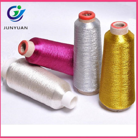 High Quality Metallic Yarn for Knitting & Embroidery (ST-Type)