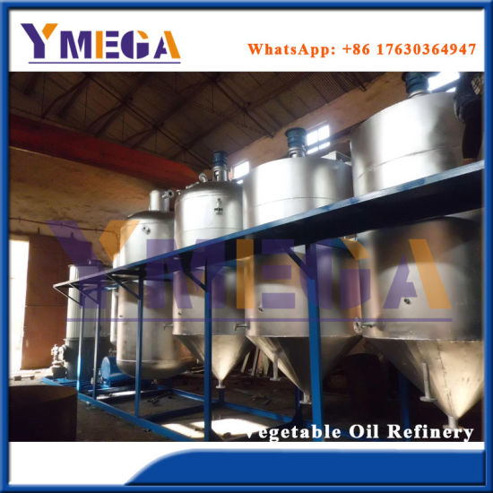 Ce Certificate Economic and Practical High Quality Cooking Oil Refining Plant pictures & photos