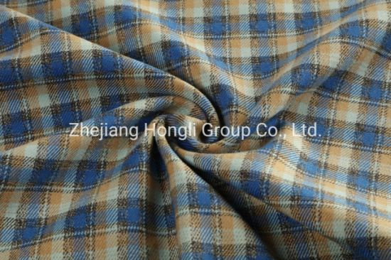 Fashion Popular Design Tr Yarn Dyed Checks Fabric