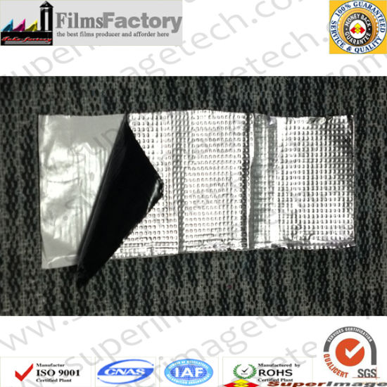 Butyl Tape/Al Foil Butyl Tape/PE Butyl Tape/Exposable Waterproof Membrane pictures & photos
