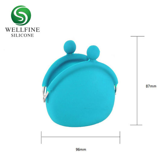 New Style Cute Silicone Coin Wallet Key Bag with Print Customized pictures & photos