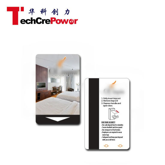 Customized Printing Contactless RFID Smart NFC Hotel Key Card pictures & photos