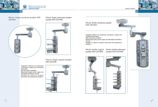 Medical Equipment Manual Tower Crane Arm Medical Pendant Ecoh61 Endoscopy Pendant pictures & photos
