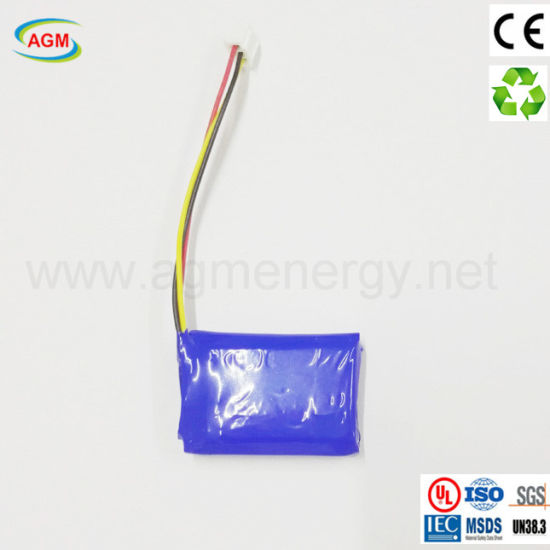 Fast Lead Time Pl103040 1100mAh 3.7V Polymer Lithium Battery
