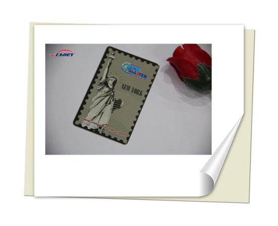 High Quality Plastic Blank SIM Card ISO7816 Normal PVC Card pictures & photos