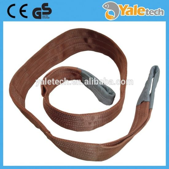 100% Polyester Flat Webbing Sling & Sling Belt Ce Approved pictures & photos