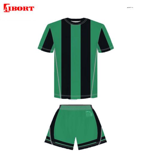 Aibort Custom Made Quick Dry Sublimation Breathable Soccer Uniform (L-SC-35)
