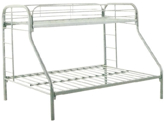 for Three Peopledormitory or Bedroom Metal Bunk Bed