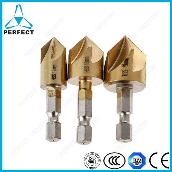 3pcs//Set Hex Shank Boring Set For Wood Metal Cutting Hole Saw Drill Bit Tools