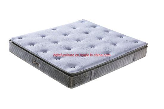 Pillow Top Design Bonnel Spring Mattress with Border Medium Soft for Hotel