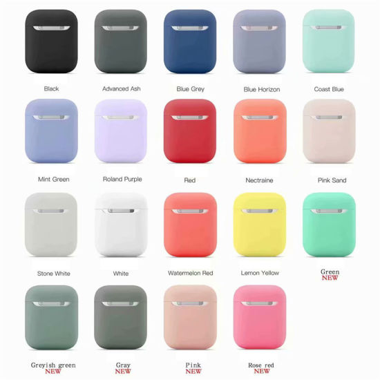 China Airpods Case Cute Earbuds Earphone Cases For Apple Airpods 2