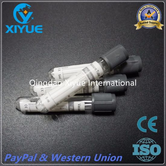 Ce&ISO Vacuum Blood Colletion Glucose Tube with High Quality