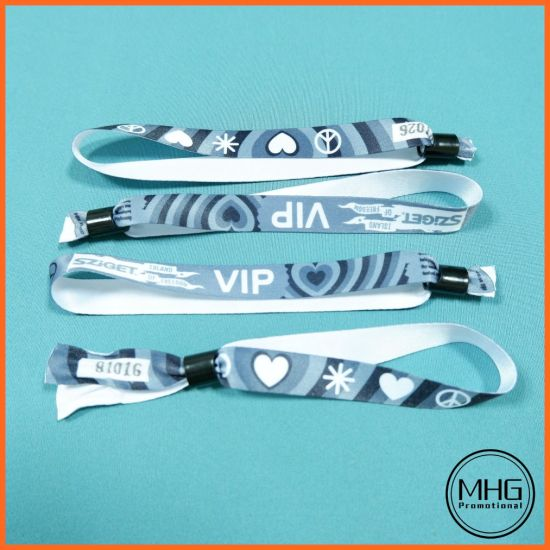 Promotional Hot Sale Sublimation Polyester Wristbands Wristband