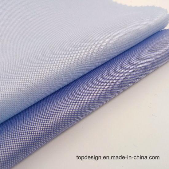 Stock Fabric 120s/2 100% Cotton Dobby Weave Fabric