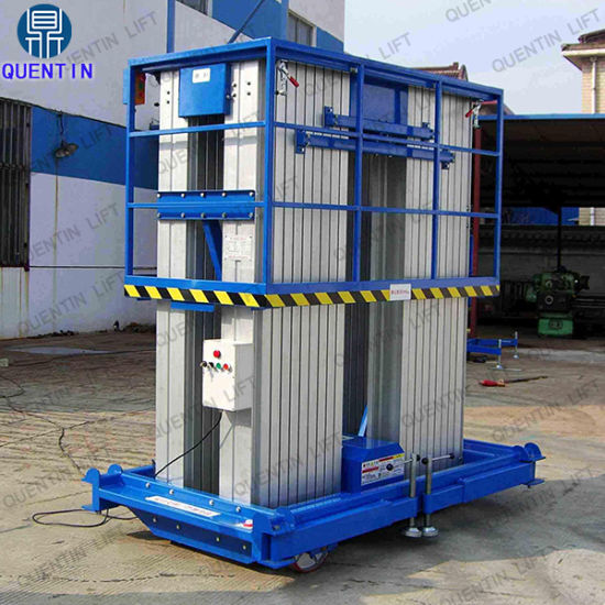 18m Quentin Vertical Aluminum Man Lift with Factory Price