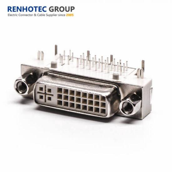High Quality Lock Screw DVI Connector Audio 1920*1200p 120Hz