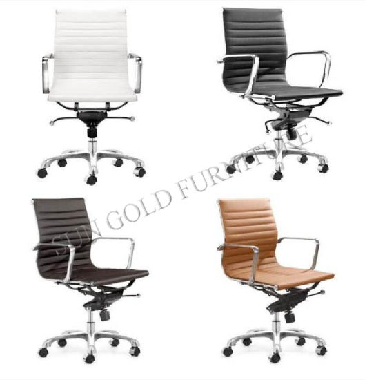 High Back Leather Office Swivel Chair for Conferance Committee Table (SZ-OC117Y)