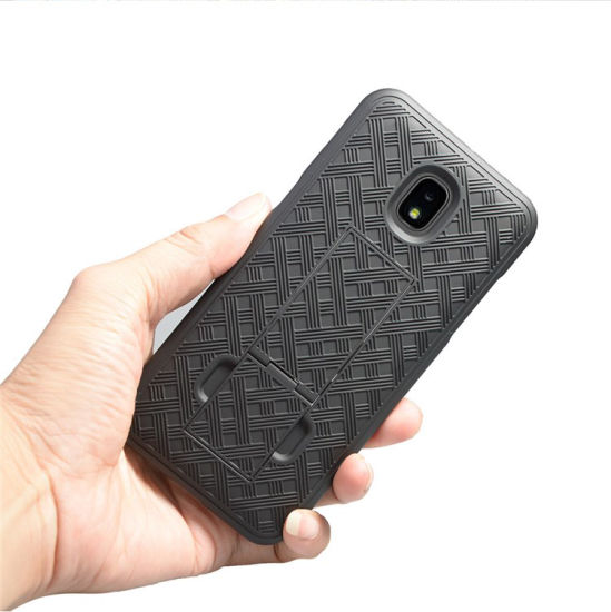 Belt Clip Holster Phone Case 2 Kickstand Slip Cover for Samsung Galaxy J7  Aero/J7 Star/J7 Top/J7 Crown/J7 Aura/J7 Refine/J7 Eon Case