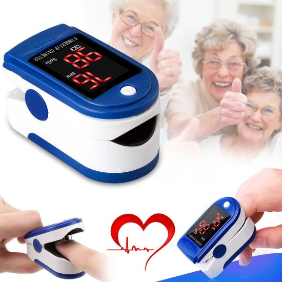 Blood Oxygen SpO2 Monitor OLED Display Fingertip Finger Pulse Oximeter pictures & photos