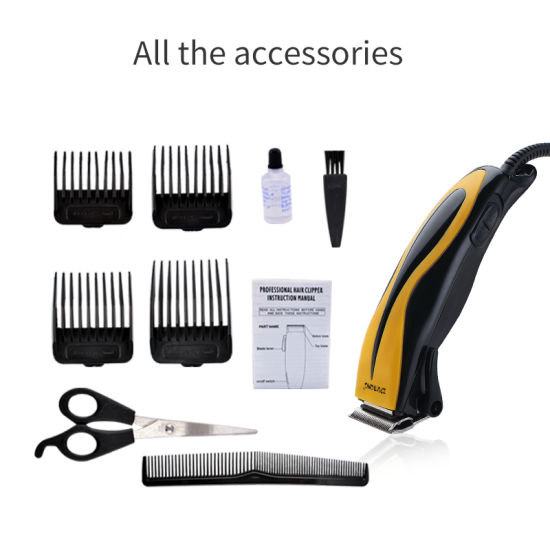 Professional Corded Electric Balding Shaven Headed Hair Clipper for Salon