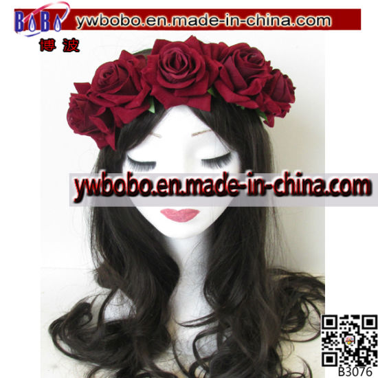 Birthday Party Gifts Hair Jewelry Floral Hairband Headband (B3070)