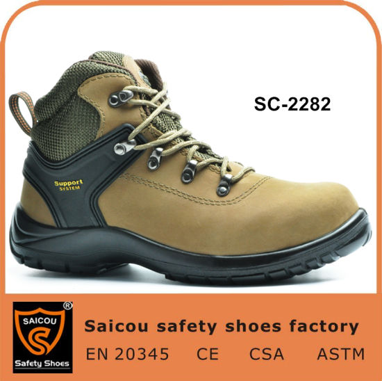 d946ad3988c Steel Toe Cap for Safety Shoes and Hiking Casusl Safety Shoes Sc-2282