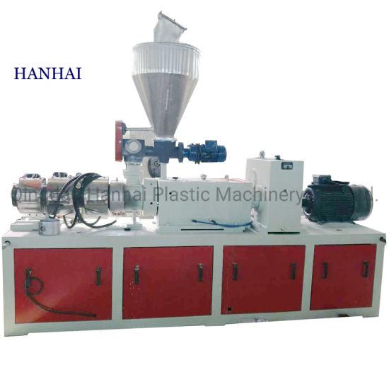 PVC Plastic Profile Ceiling Panel Production Equipment Single Screw Extrusion Line