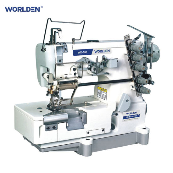 Wd-500-05CB High Speed Flat-Bed Interlock Sewing Machine (with cut)