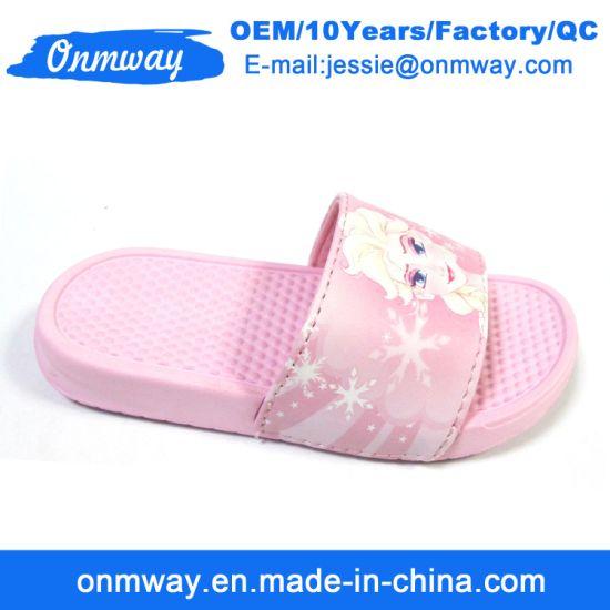 278fd1f11 China Kids EVA Massage Pink Beach Outsole Slippers - China Light ...