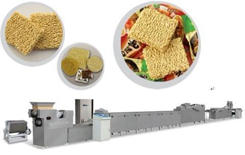 China Supplier Instant Fried Noodle Making Machine Noodle Machine