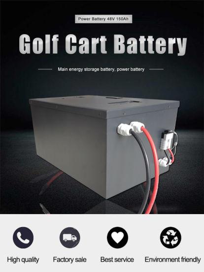Lithium Battery 48V150ah for Golf Cart/ Agv Battery/ Lithium Ion / Li-ion / LiFePO4 Battery