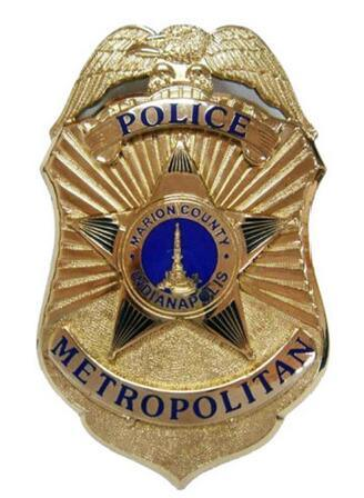Best Price Big Size Us Police Officer Badge pictures & photos