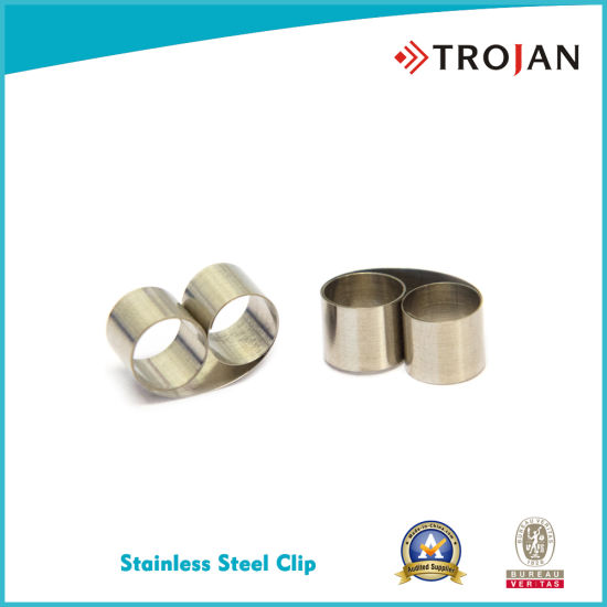 Stainless Steel Coil Clip for Sample Preparation Testing Lab