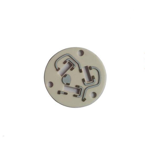 High Resistance 99% Alumina PCB Substrate/Insulating Ceramic PCB Circuit Board