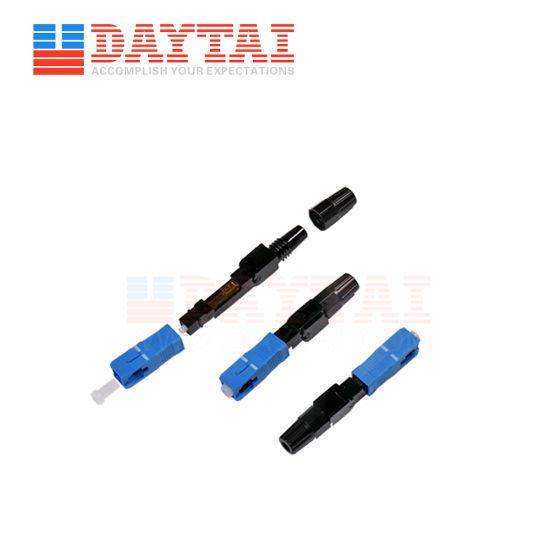 Fiber Optic Sc/Upc Fast Connector