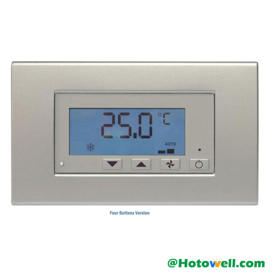 HVAC Digital Remote Air Conditioning Thermostat with Window/Door Contact pictures & photos