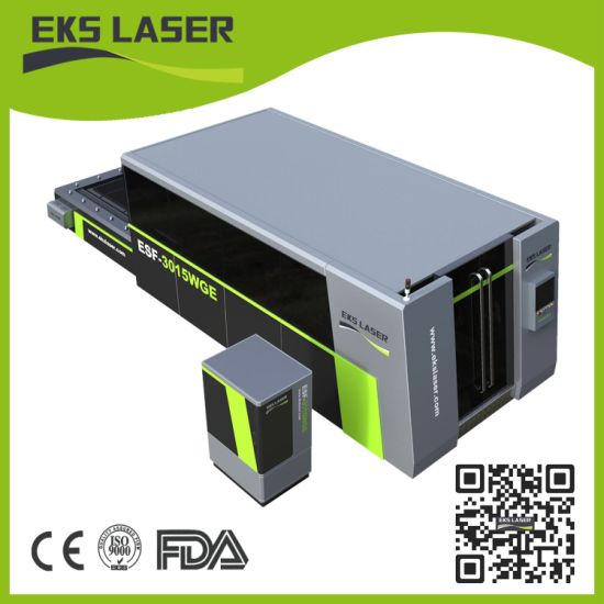 Laser Equipment Fiber Laser Cutting Machine Cutting Metal Sample