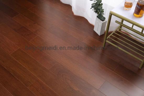 China Russia Oak Top Grade Engineered, Snap Laminate Flooring