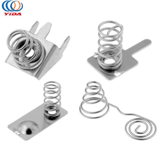 Stamping Battery Contacts Metal Battery Holder and AAA Battery Spring