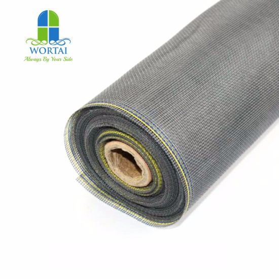 PVC Coated Fiberglass Polyester Mesh Window Screen pictures & photos